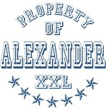 Property Of Alexander T-shirts Gifts