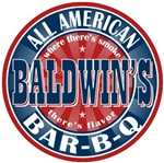 Baldwin's All American Bar-b-q T-shirts Gifts