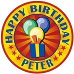 Happy Birthday Peter Personalized T-shirts Gifts