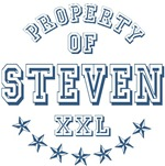 Property of Steven Personalized T-shirts Gifts