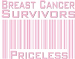 Breast Cancer Suvivors Priceless T-shirts Gifts