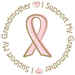 Breast Cancer Support Grandmother T-shirts Gifts