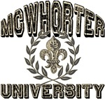 McWhorter University Personalized T-shirt Gifts
