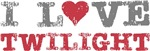 I Love Heart Twilight Movie Book Tees Gifts
