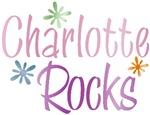 Charlotte Rocks Girl's Name Tees Gifts