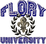 Flory Last Name University Tees Gifts