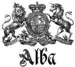 Alba Vintage Family Name Crest Tees Gifts