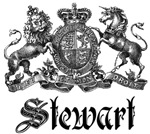 Stewart Vintage Family Name Crest Tees Gifts