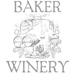 Baker Vintage Family Name Winery Tees Gifts