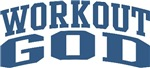 Workout God Gym Nickname Personalized Tees Gifts