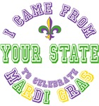 From Your City or State to Mardi Gras Tees Gifts