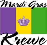 Mardi Gras Flag with Krewe Tees Gifts