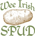Wee Irish Spud Potato Tees Gifts