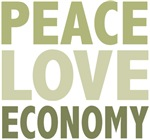 Peace Love Economy Tees and Gifts