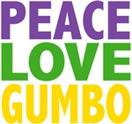 Peace Love Gumbo Tees Gifts