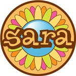 Sara Girl's Name Personalized Tees Gifts