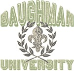 Baughman Last Name University Tees Gifts