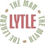 Lytle the Man Myth Legend Tee Shirts Gifts