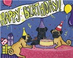 Happy Birthday Pugs