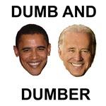 Barack Hussein Obama and Joe Biden - Dumb and Dumb