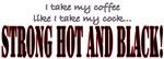 Black Cock Coffee Mugs