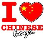 I love Chinese boys