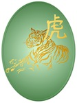 Year Of The Tiger Framed