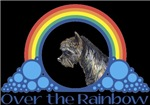 With all the colors of the rainbow, this Wonderful Wizard of Oz inspired design capturesToto Over the Rainbow.  The perfect gift for any Oz fan.