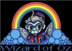 With all the colors of the rainbow, this Wonderful Wizard of Oz inspired design captures Flying Monkey Wizard of Oz.  The perfect gift for any Oz fan.