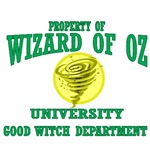 Property of Wizard of Oz University, Good Witch Department.  Dean Glinda will help you in your bubble making studies, amoung other wonderful classes you will take.