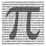 Pi by the Numbers.  When performing those really long and complicated calculations it is important to always have a handy reference for what Pi really is.  Any decent mathematician or math geek should have this shirt ready to use in just such an emmergenc