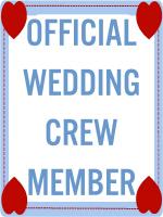 OFFICIAL WEDDING CREW