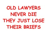 funny lawyer joke on gifts and t-shirts.
