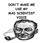 a funny mad scientist joke on gifts and t-shirts.