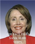 a funny nancy pelosi joke on gifts and t-shirts