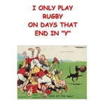 a funny rugby joke on gift and t-shirts