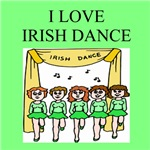 irish jig dance gifts and t-shirts