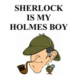 sherlock holmes gifts and t-shirts