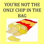 potato chip joke gifts and t-shirts