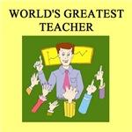 world's greatest teacher gifts t-shirts