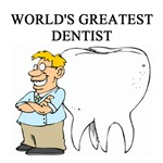 world's greatest dentist gifts t-shirts