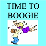 time to boogie gifts t-shirts