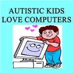 autistic boys computers gifts t-shirts