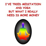 meditation money joke t-shirts gifts
