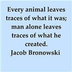 jacob bronowski quotes