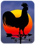 Sunrise Rooster