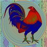 Impressionist Gamecock