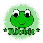 Green Frog Ribbit