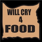 Will Cry 4 Food
