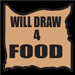 Will Draw 4 Food